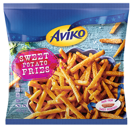 Sweet Potato Fries 450 G Aviko (1)