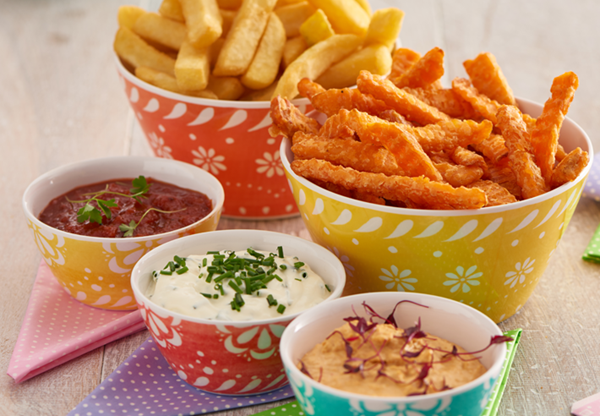 Fries and dips